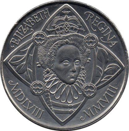 Engeland 5 pound 2008 UNC