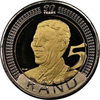 5 Rand 2008 UNC