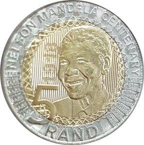 5 Rand 2018 UNC