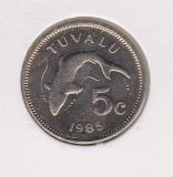 Tuvalu 5 Cent 1985 UNC