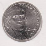 Amerika 5 Cent 2020 P
