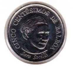 Panama 5 Centesimos 2018 UNC