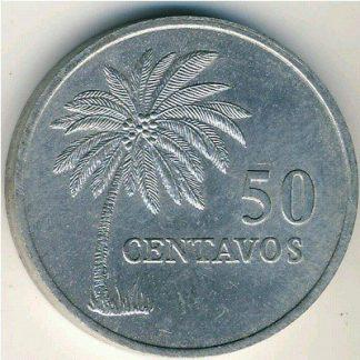 Guinea-Bissau 50 Centavos 1977 UNC