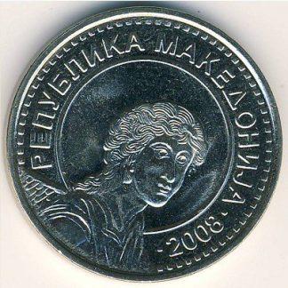Macedonie 50 Denari 2008 UNC