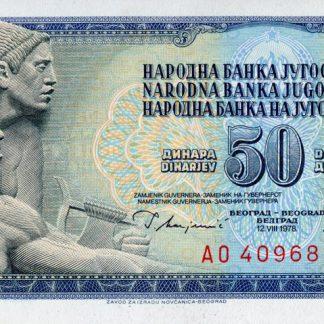 Joegoslavie 50 Dinara 1978 UNC