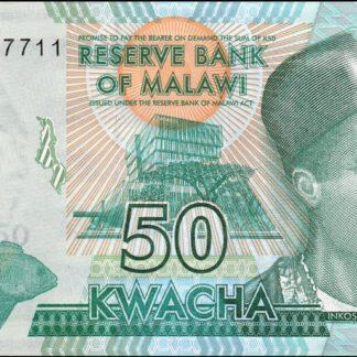 Malawi 50 Kwacha 2016 UNC