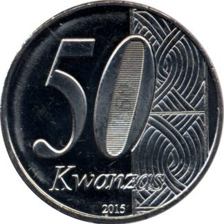 Angola 50 Kwanzas 2015
