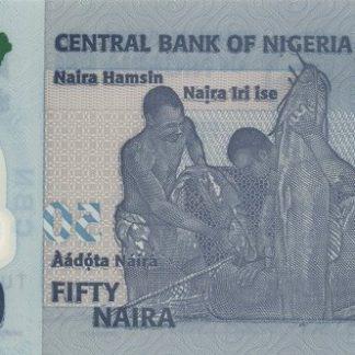 Nigeria 50 Naira 2019 UNC