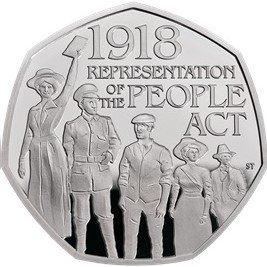 50 Pence 2018 UNC