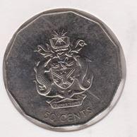Solomon Island 50 Cent 2005 UNC