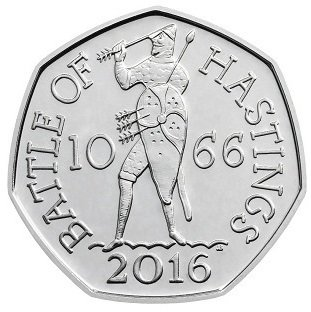 50 Pence 2016 UNC