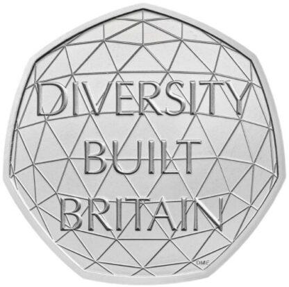 Engeland 50 Pence 2020 UNC