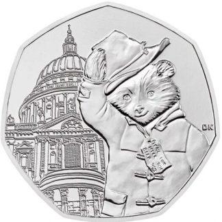 Engeland 50 Pence 2019 UNC