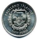 Falkland Island 50 Cent 1977 UNC