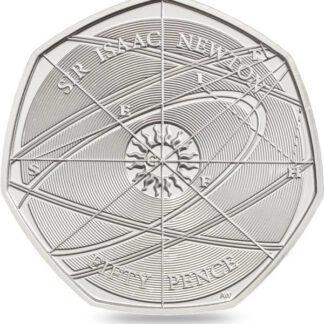 Engeland 50 Pence 2017 UNC