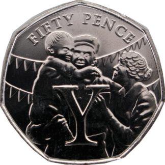 Eiland Man 50 Pence 2020