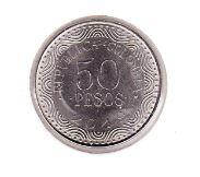 Colombia 50 Pesos 2019 UNC