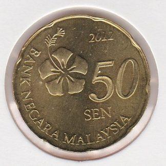 50 Sen 2012 UNC
