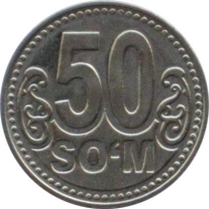 Oezbekistan 50 Som 2018 UNC