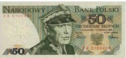 Polen 50 Zloty 1986 UNC
