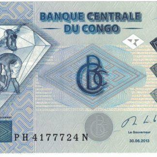 Rep du Congo 500 Frank 2013 UNC