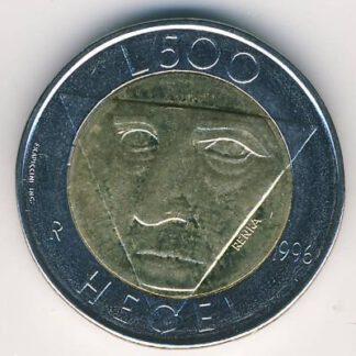 San Mario 500 Lira 1996 UNC
