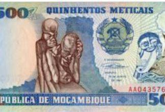 Mozambique 500 Meticais 1991 UNC
