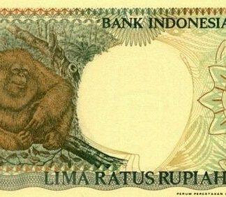 Indonesie 500 Rupees 1997 UNC