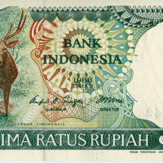 Indonesie 500 Rupees 1988 UNC