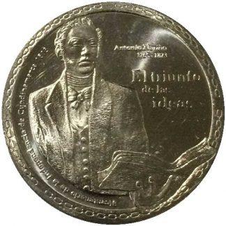 Colombia 5000 Pesos 2017 UNC