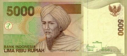 Indonesie 5000 Rupees 2009