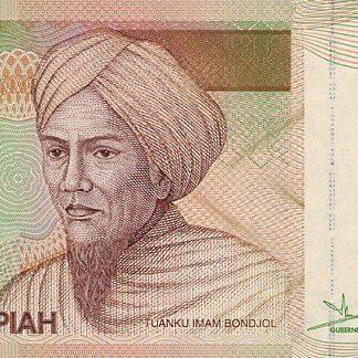 Indonesie 5000 Rupees 2001 UNC