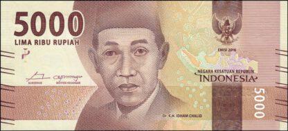 Indonesie 5000 Rupees 2016 UNC