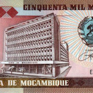 50.000 Meticais 1993 UNC