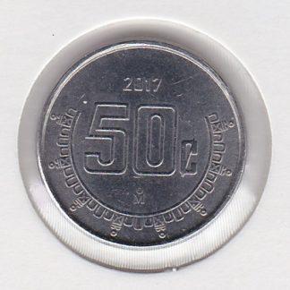 50 Centavos 2017 UNC