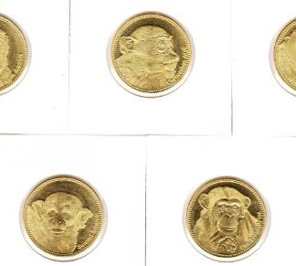 Somaliland set van 5 munten 2017 UNC