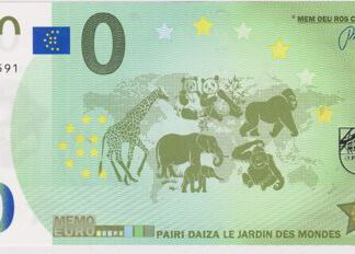 O Euro bankbiljet 2018 UNC Frankrijk