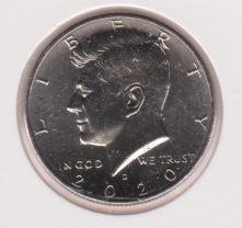 Amerika 1/2 Dollar 2020 D