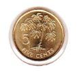 Seychelles 5 Cent 2010 UNC