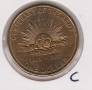 Australie 1 Dollar 2001 UNC
