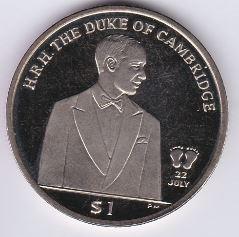1 Dollar 2013 UNC