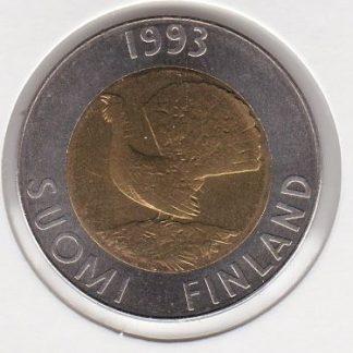 10 Markkaa 1993 UNC