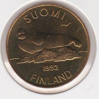 5 Markkaa 1992 UNC
