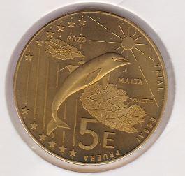 5 ECU 2004 UNC