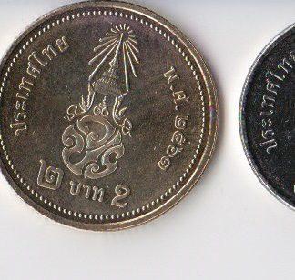 set van 6 munt UNC
