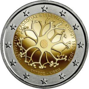 Cyprus 2 Euro speciaal 2020 UNC