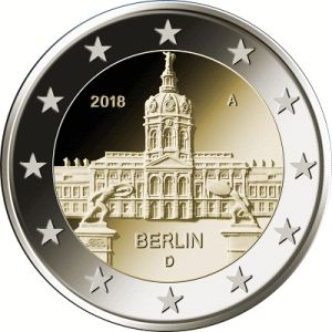 Duitsland 2 Euro Speciaal 2018 A UNC