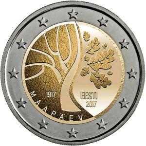 Estland 2 Euro Speciaal 2017 UNC