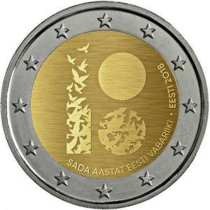 Estland 2 Euro Speciaal 2018 UNC