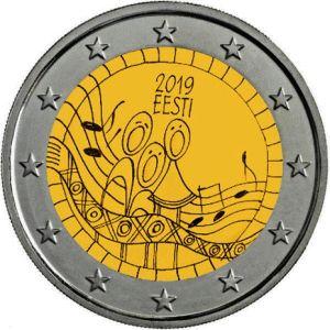 Estland 2 Euro Speciaal 2019 UNC